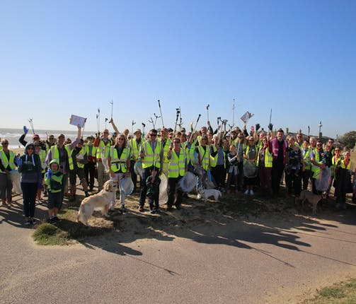 Adnams Great British Beach Clean 2019