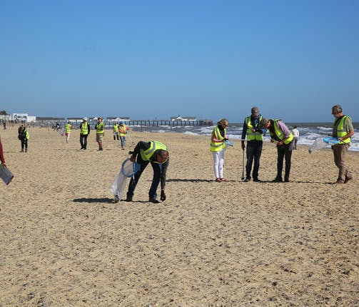 First Beach Clean of the Year