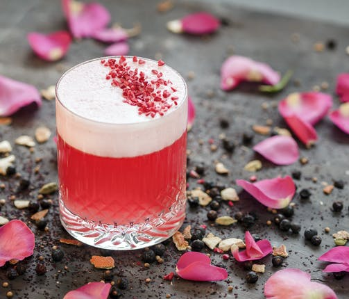 With Love From The Coast - Pink Gin Fizz
