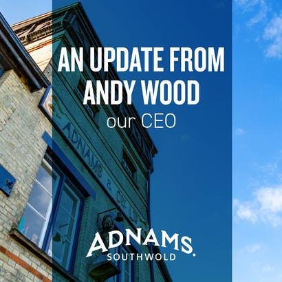 An update from our CEO, Andy Wood