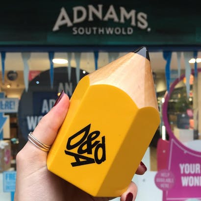 Adnams is proud to be working with the D&AD New Blood Awards 2019