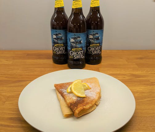 Beer-illiant Citrus Pancakes
