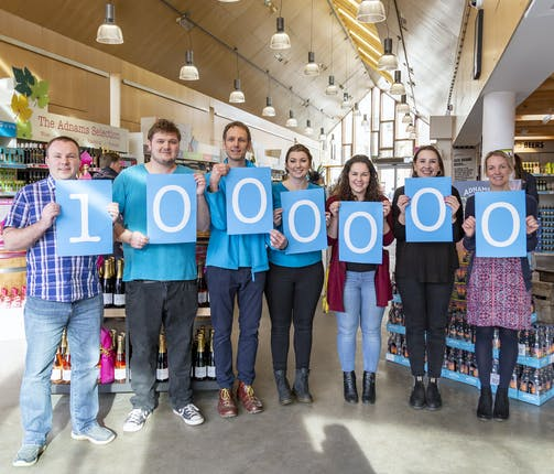 Thank you, you've helped us reach one million donations through Pennies
