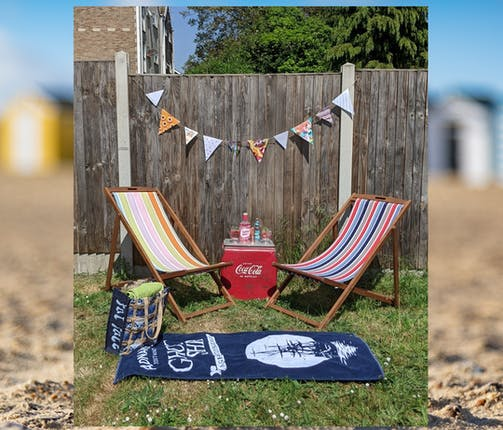 Southwold Picnic at Home: Seaside Bunting