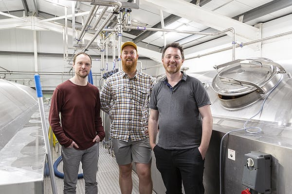 Adnams Fergus Fitzgerald and the brewers from Cloudwater