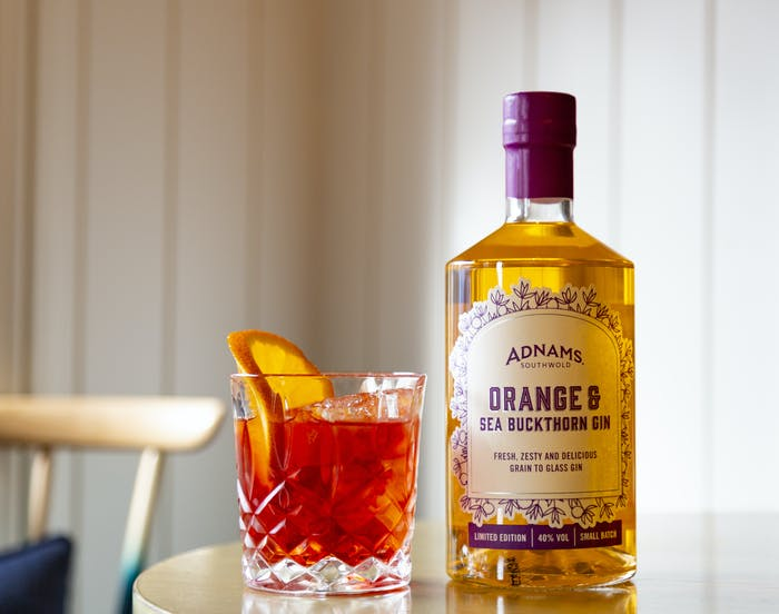 New seasonal gin! Orange & Sea Buckthorn