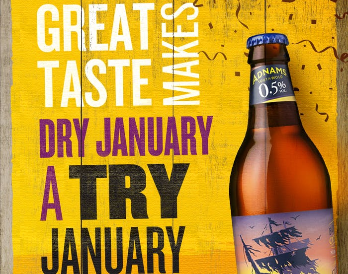 Great taste makes Dry January a Try January