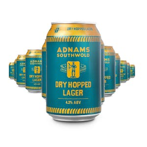Jack Brand Dry Hopped Lager Cans