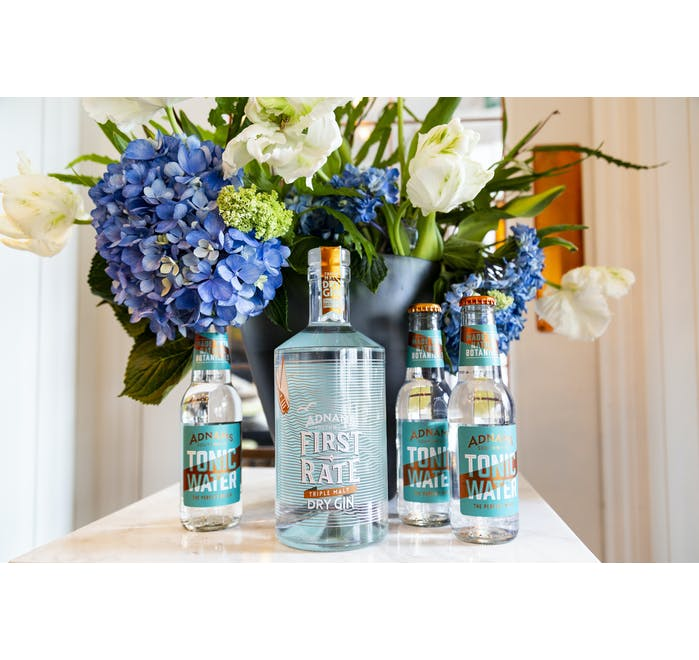 70cl Adnams First Rate Triple Malt Dry Gin 45% - from Adnams
