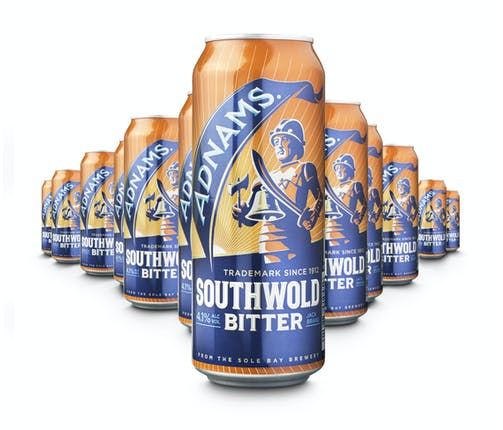 Cans of southwold bitter