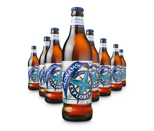 bottles of adnams explorer
