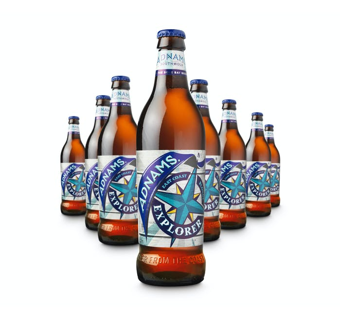 Adnams Explorer 8x500ml bottles - from Adnams