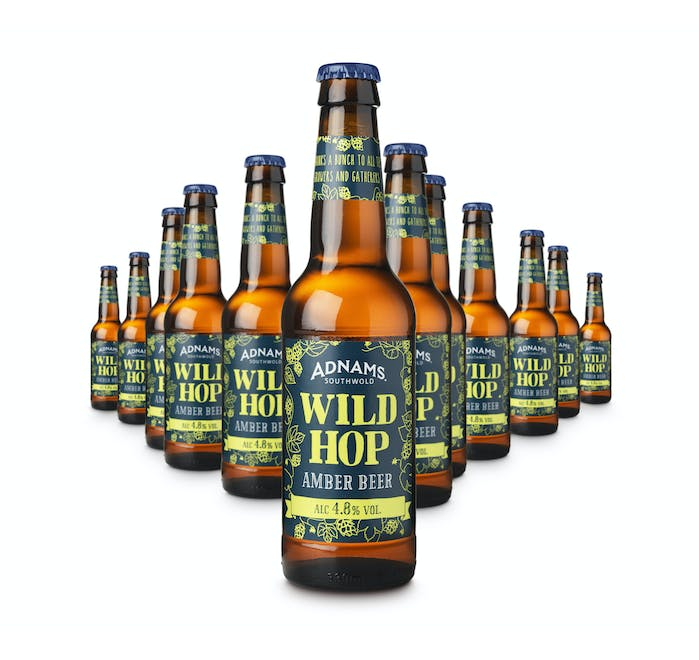 Adnams Wild Hop Amber Beer 12x330ml bottles  - from Adnams