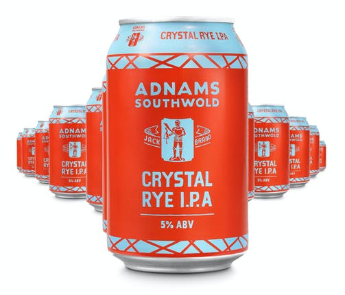Adnams Jack Brand Crystal Rye IPA - from Adnams