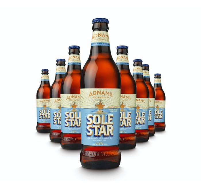 Adnams Sole Star 8x500ml bottles - from Adnams