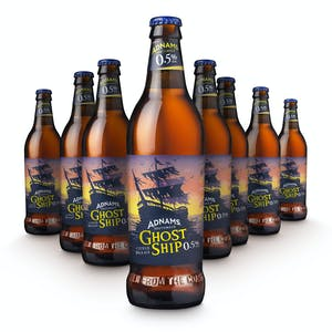 Adnams Ghost Ship 0.5% Bottles