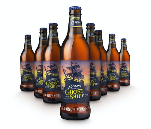 Ghost Ship 0.5% Bottles