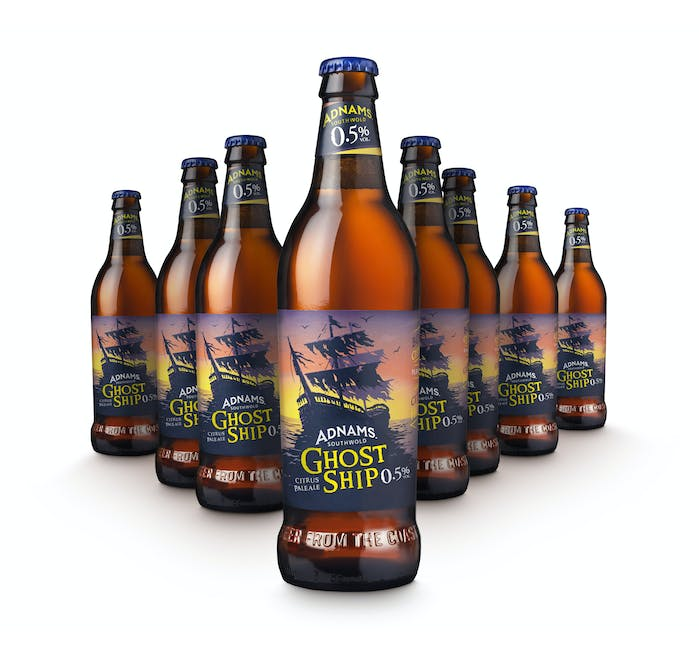 Ghost Ship Alcohol Free 8x500ml bottles - from Adnams