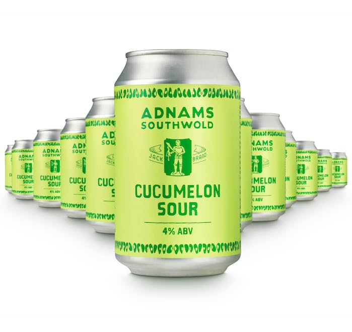 Adnams Jack Brand Cucumelon Sour 12x330ml cans - from Adnams