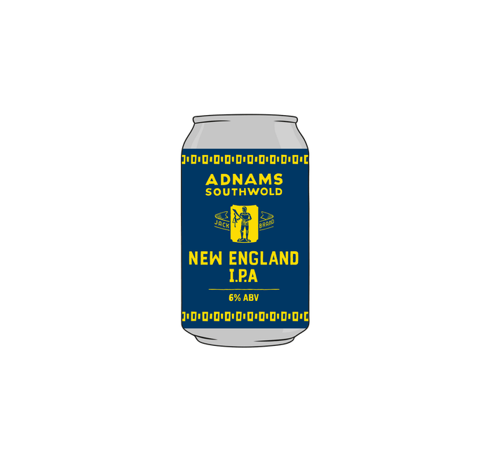 Adnams New England IPA 12x330ml cans - from Adnams