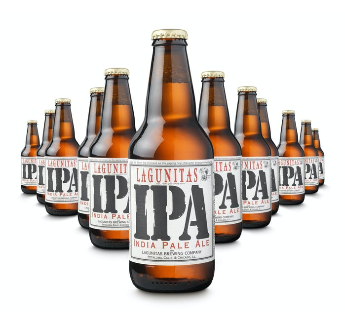 Lagunitas India Pale Ale, 24 x 355ml bottles - from Adnams