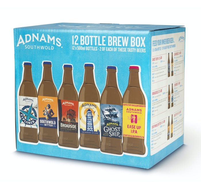 Adnams 12-bottle Beer Selection Box - from Adnams