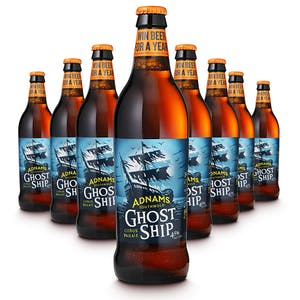 Adnams Ghost Ship Bottles