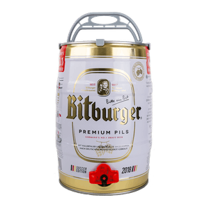 Bitburger Pils Mini-Keg