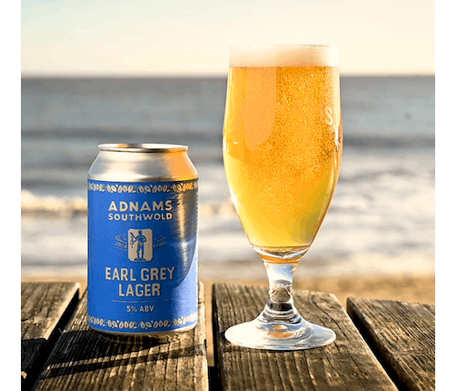 Adnams Jack Brand Earl Grey Lager - from Adnams