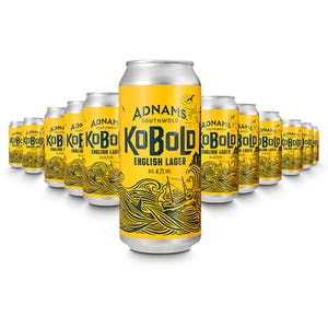Adnams Kobold English Lager Cans