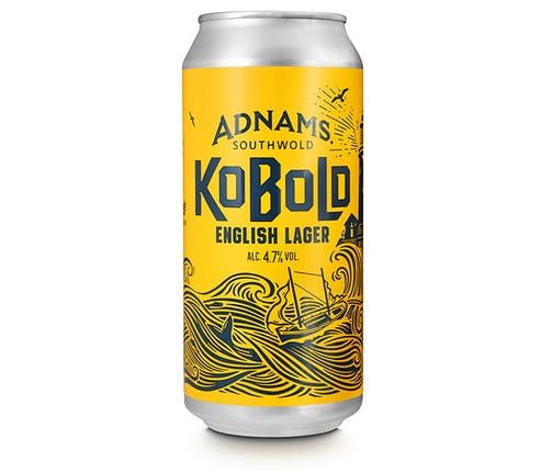 Adnams Kobold English Lager Cans, Kobold, Lager, New