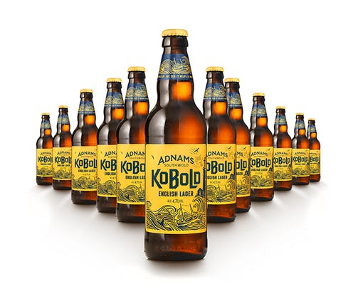 Adnams Kobold English Lager Bottles, Lager