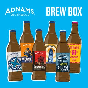 Adnams 6 & 12 bottle beer box
