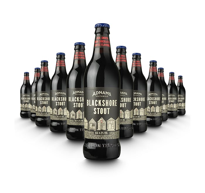 Adnams Blackshore Stout Bottles