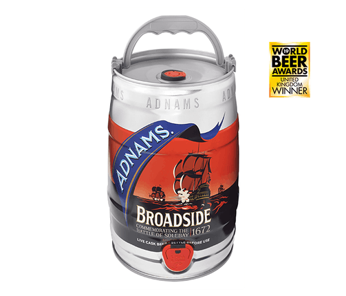 Adnams Broadside Mini-Keg