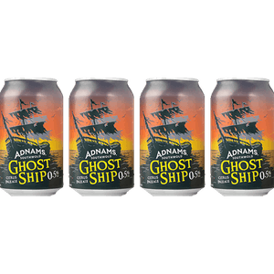 Adnams Ghost Ship 0.5% 4 x Cans