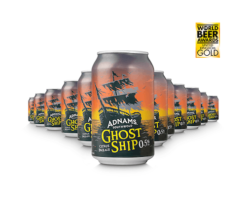 Ghost Ship 0.5% Cans
