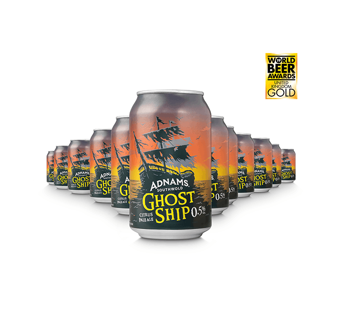 Ghost Ship 0.5% from Adnams