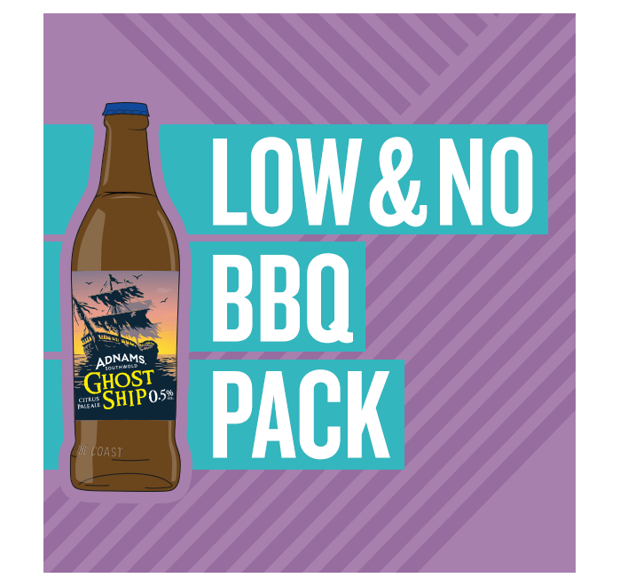 low and non-alcoholic BBQ pack
