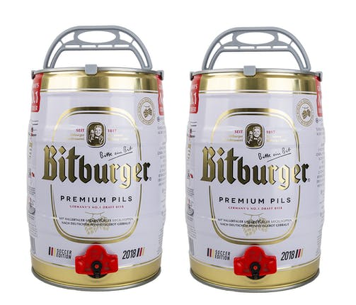 Bitburger Pils Mini-Kegs