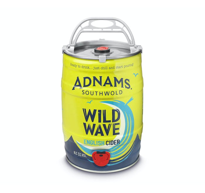 Adnams Wild Wave English Cider Mini-Kegs