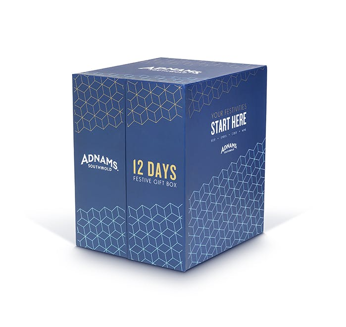 Adnams 12 Days of Christmas Gift Box