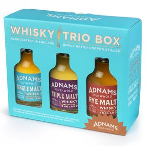 Adnams Whisky Trio Gift Set