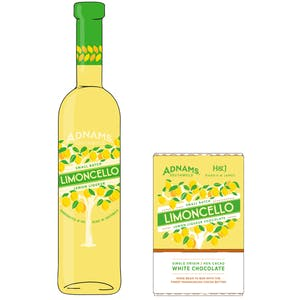 Adnams Limoncello Chocolate Gift Set