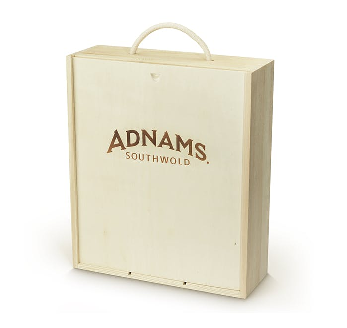 Adnams Prosecco and Flutes Gift Set