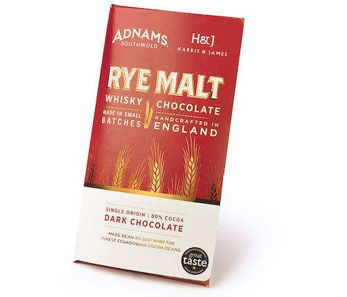 Adnams Whisky Chocolate Bar