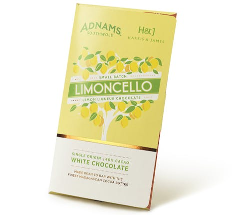 Adnams Limoncello Chocolate Bar