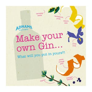 Make Your Own Gin Gift Card