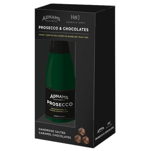 Adnams Mini Prosecco & Chocolate Gift Set