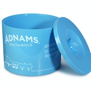 Adnams Blue Plastic Ice Bucket